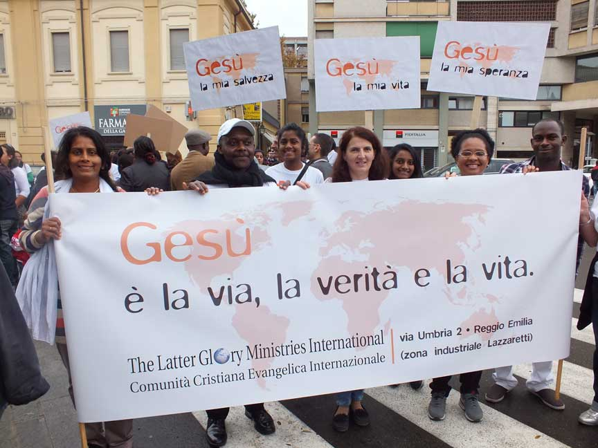 Marcia per Gesù – Reggio Emilia
