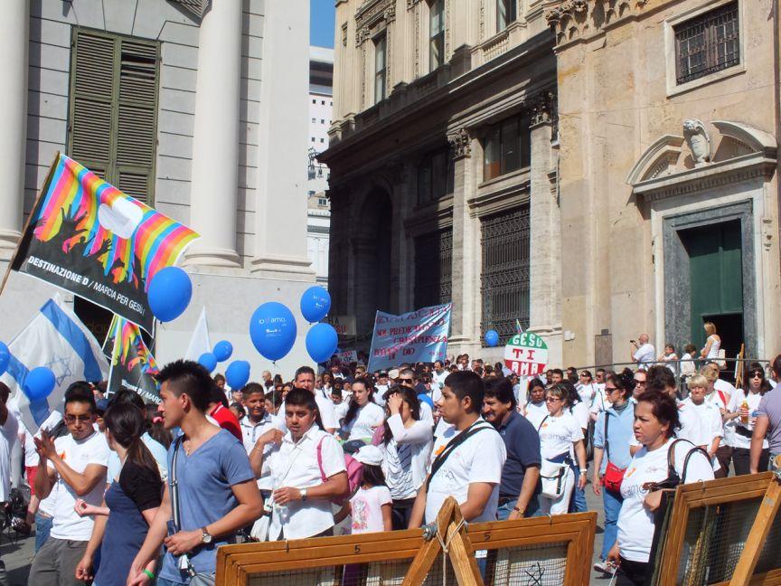 Marcia per Gesù – Genova 2012