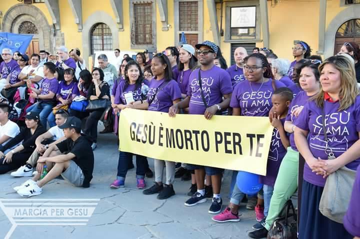 Marcia per Gesù – Firenze 2016